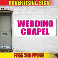 Wedding Chapel Banner Advertising Vinyl Sign Flag Marry Ceremony Event Chantry