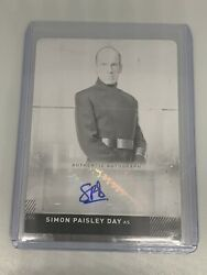 Simon Paisley Day 2019 Topps Star Wars Ros 1/1 Auto Printing Plate As Gen. Quinn