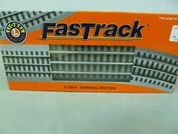 O Scale-lionel- Lot No.21- Fast Track 6-12016 Terminal Section - New
