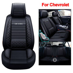 Leather Car Seat Cover Set Protection Cushion Fit For Chevrolet Equinox