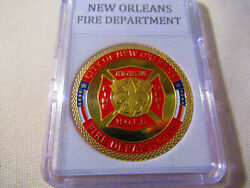 New Orleans Fire Dept. Challenge Coin