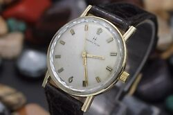Vintage Hamilton Cal. 688 Hand Wind 10k Gold Filled Menand039s Dress Watch All Orig.