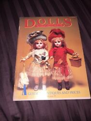 Vintage Dolls The Collector's Magazine Winter 1984 A Guide To Antiques And Prices