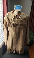 Native American Indian Shirt, Large , From A Mid West Estate, 1920-30s