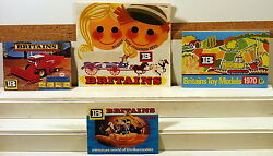 Dte 4 England Britains Toy Models 1970, 1975, 1977, And 1978 Catalogs No Writing
