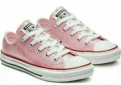 Converse Chuck Taylor All Star Kids#x27; Shoes Pink Foam 663628C Youth 3 New w o box $24.99