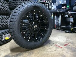 20 Xd Xd829 Hoss Ii Fuel At 285/55r20 Wheel And Tire Package 6x135 Ford F150