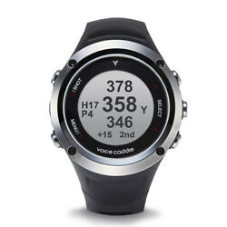 Voice Caddie G2 Hybrid Golf Gps Watch With Slope And Fitness Black/silver