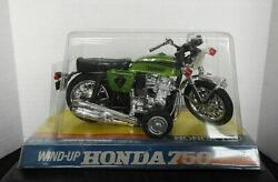 1969-75 Honda Cb 750 Four Wind-up Toy Motorcycle Woolworth Store Hong Kong Rare