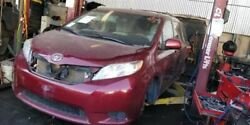 Red Passenger Fr Door Electric Windows Pw Pl Pm 5s1 Fits 11-14 Toyota Sienna Oem