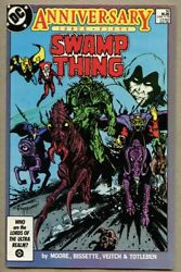 Swamp Thing 50-1986 Vf 8.0 Giant-size / 1st Full Justice League Dark Alan Moore