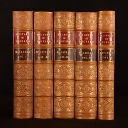 1850-1861 5vols The History Of England Thomas Babington Macaulay Sixth Ed
