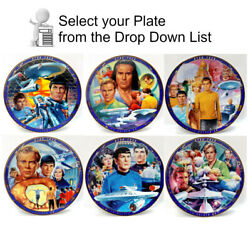 1990s Star Trek Tos Series 2 Episode Plate Collection-your Choice Of 6 Or Set