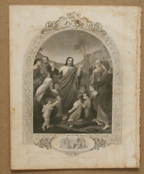 Illustrated Page From 1864 Bible