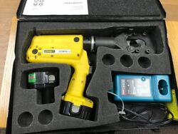 Stanley Hydraulics Ccb16 Battery-powered Cutting Tool W/ 2 Batteries And Charger