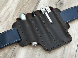 Leather Belt Pouch Edc Pocket Organizer Tool For Belt Tool Pouch Leather Sheath