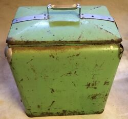 Rare 1920's-30's Ice Chest Could Be Dr. Pepper