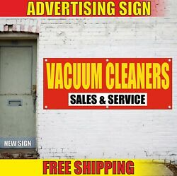 Vacuum Cleaners Banner Advertising Vinyl Sign Flag Repair Fix Sales And Service