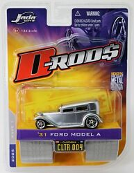 Jada Toys '31 Ford Model A D-rods Wave 1 12039-004 New Nrfp 2005 Gray 164
