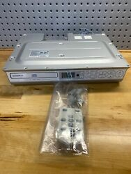 Audiovox Kcd3180 Undercabinet Cd Clock Radio And Remote Free Ship Fully Tested