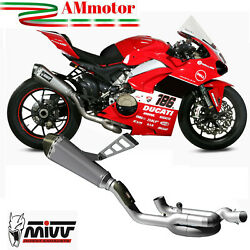 Exhaust Mivv Ducati Panigale V4 2019 Motorcycle Manifolds Collector Titanium Evo