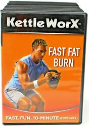 Kettleworx Ultra Lot Six Week Body Transformation,10 Minute Work-out, And Ultimat