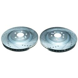 Ar85141xpr Powerstop 2-wheel Set Brake Discs Front Driver And Passenger Side New