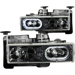 Anzo 111005 Headlight For 88-98 Gmc C1500 Left And Right
