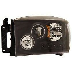 111104 Anzo Headlight Lamp Driver And Passenger Side New For Ram Truck Lh Rh 1500