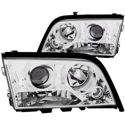 121158 Anzo Headlight Lamp Driver And Passenger Side New For Mercedes C Class