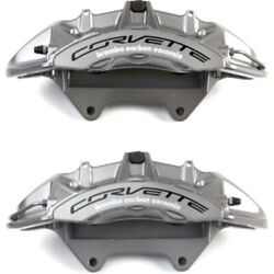 Set-ac1722652-f Ac Delco Brake Calipers 2-wheel Set Front Driver And Passenger New