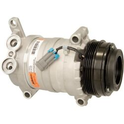 15-22144a Ac Delco A/c Compressor New For Chevy Avalanche Suburban With Clutch