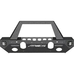 2082095 Aries Bumper Face Bar New For Jeep Wrangler 2018-2019
