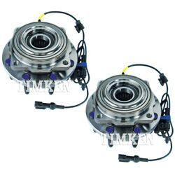 Set-tmsp940200 Timken Set Of 2 Wheel Hubs Front Driver And Passenger Side New Pair