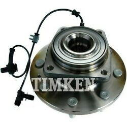 Sp620302 Timken Wheel Hub Front Driver Or Passenger Side New 4wd 4x4 4-wheel Abs