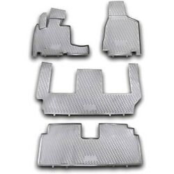 74-07-41004 Westin Floor Mats Front New Black For Town And Country Grand Caravan