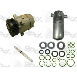 9611747 Gpd Kit A/c Ac Compressor New For Chevy S10 Pickup With Clutch Chevrolet
