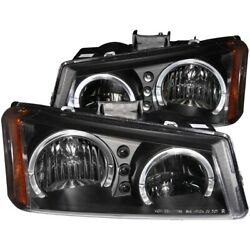 111212 Anzo Headlight Lamp Driver And Passenger Side New For Chevy Avalanche Lh Rh