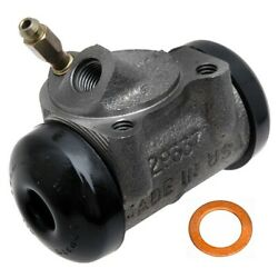 18e496 Ac Delco Wheel Cylinder Front Or Rear Driver Left Side New For Chevy Lh