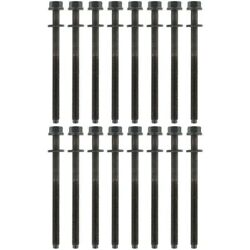 Ahb499 Apex Set Of 16 Cylinder Head Bolts New For Jaguar X-type S-type Ls 00-05