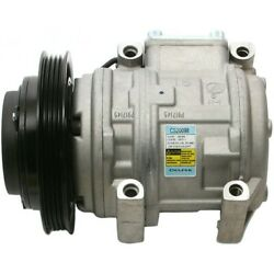 Cs20098 Delphi A/c Ac Compressor New For Truck With Clutch Toyota Corolla Pickup