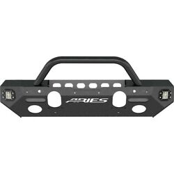 2082058 Aries Bumper Face Bar Front New For Jeep Wrangler Jk 2018