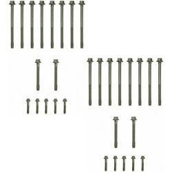 Set-fpes72173-2 Felpro Cylinder Head Bolts Set Of 30 New For Chevy Avalanche