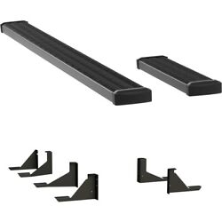 415110-401347 Luverne Set Of 2 Running Boards New For Chevy Express Van Pair