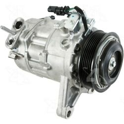 68322 4-seasons Four-seasons A/c Ac Compressor New For Chevy With Clutch Acadia
