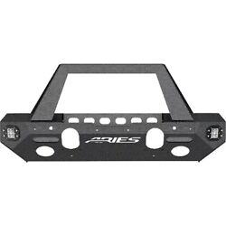 2082085 Aries Bumper Face Bar New For Jeep Wrangler 2018-2019