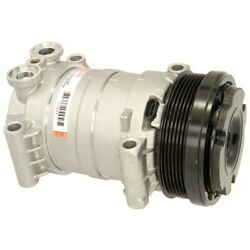 15-22124a Ac Delco A/c Compressor New For Chevy Olds Suburban Savana With Clutch