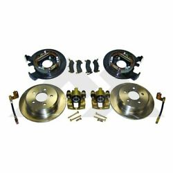 Rt31007 Rt Off-road Disc Brake Upgrade Kit Rear New For Jeep Grand Cherokee