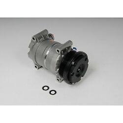 15-22220 Ac Delco A/c Compressor New For Chevy Olds Express Van With Clutch