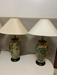 Two Frederick Cooper table lamps. Two stunning vintage lamps